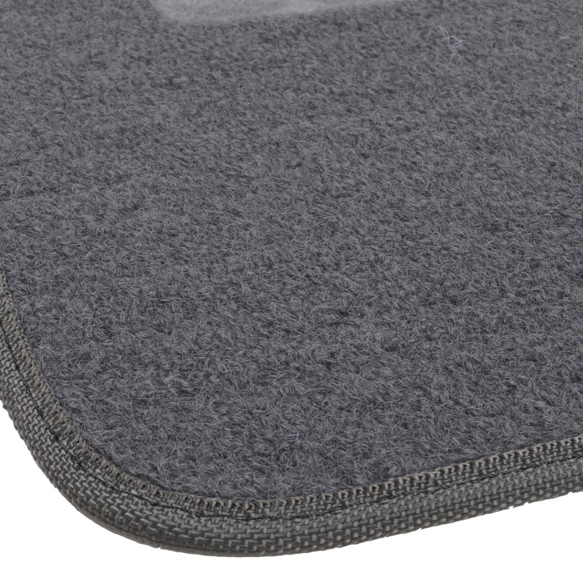 Motor Trend FatRug Carpet Floor Mats Dark Ash Gray Thick Robust Auto Gear for Your Car Truck or SUV
