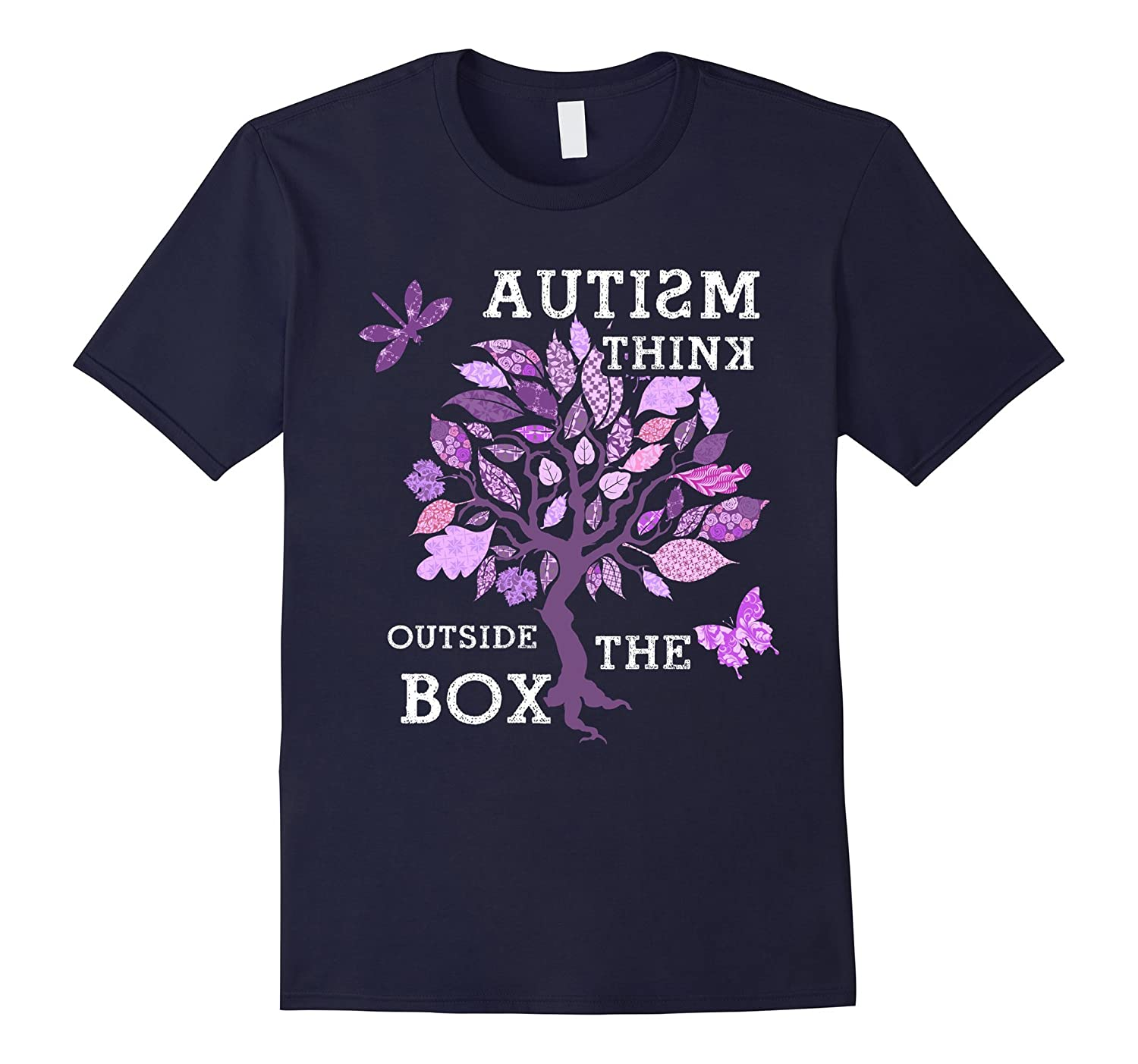 Autism Awareness Day Autistic Ribbon Mom Dad Kids Gift Shirt-CD