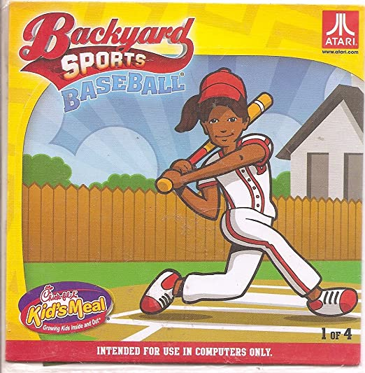 Great Chick Fil A Backyard Sports Baseball By Atari 2012