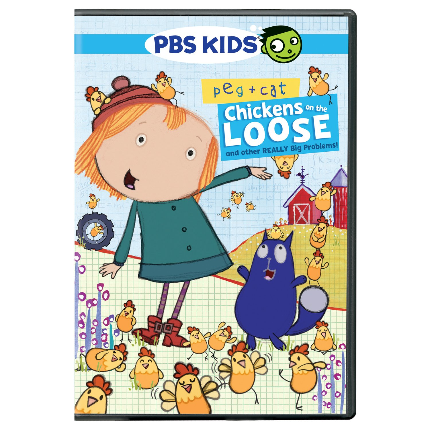 Peg Cat: Chickens On The Loose, And Other Really Big Problems! by Amazon
