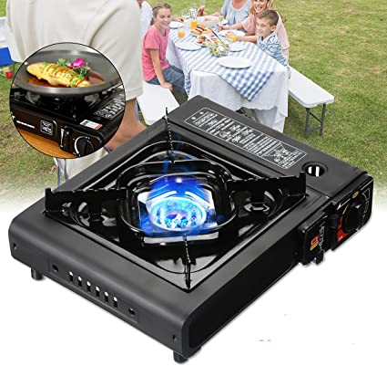 Desconocido 285Cm 2900W Portable Compact Camping Gas Cooking ...