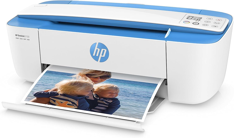 HP DeskJet 3720 Inyección de Tinta térmica 8 ppm 4800 x 1200 dpi ...