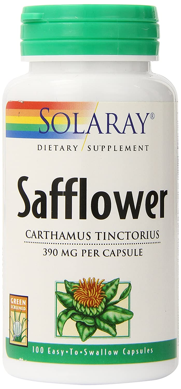 Safflower 390mg 100 - Capsule