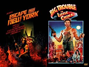 John Carpenter Kurt Russell 2-Movie Action Bundle - Big Trouble in Little China & Escape from New York 2-DVD Set