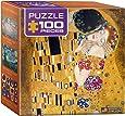 Eurographics Klimt-The Kiss (Der Kuss) Mini Puzzle (100-Piece)