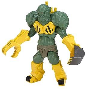 Power Rangers Ninja Steel - 5-Inch Villain Stonedozer Figure