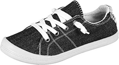 NEW Women/'s Comfort Lace Up Light Weight Fashion Sneaker Sport Shoes Size 5-10