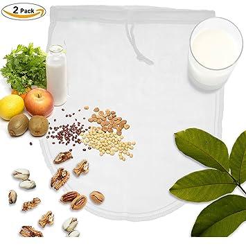 OldPAPA Nut Milk Bag, Bolsa para Hacer Leches Vegetales, iNeibo, Bolsa para Hacer