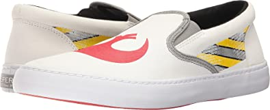 Mens Rebel Cutter White Shoe Sperry Top-Sider