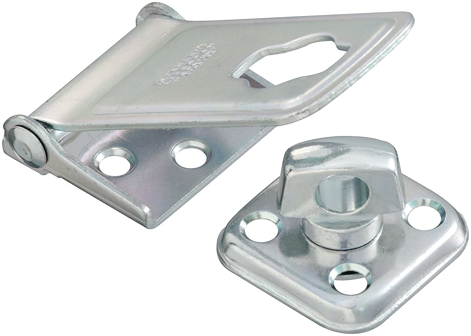 Stanley Hardware S516 150 917 Latching Post Safety Hasp in Zinc 3 1 2