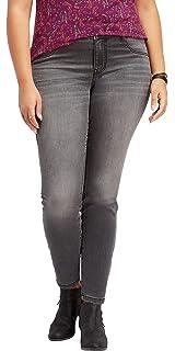502fac95a7f maurices Women's Plus Size Denimflex TM Black Shredded Jegging at ...
