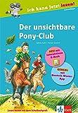 Der unsichtbare Pony-Club: Buch mit interaktivem E-Book und App (Ich kann jetzt lesen!)