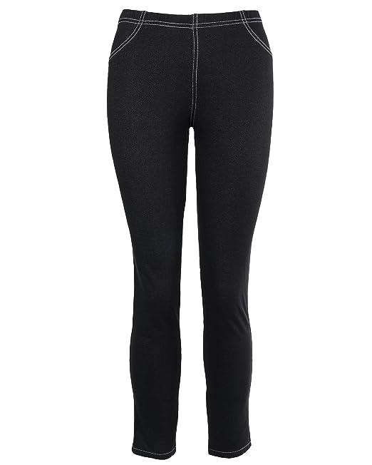 Amazon.com: icantoo fácil de la mujer pantalón Slim Leg ...