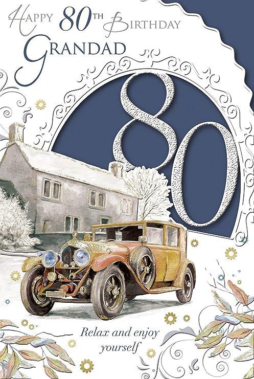 Xpress Yourself Tanti Auguri Nonno 80 Anni Celebrate Oggi Biglietto
