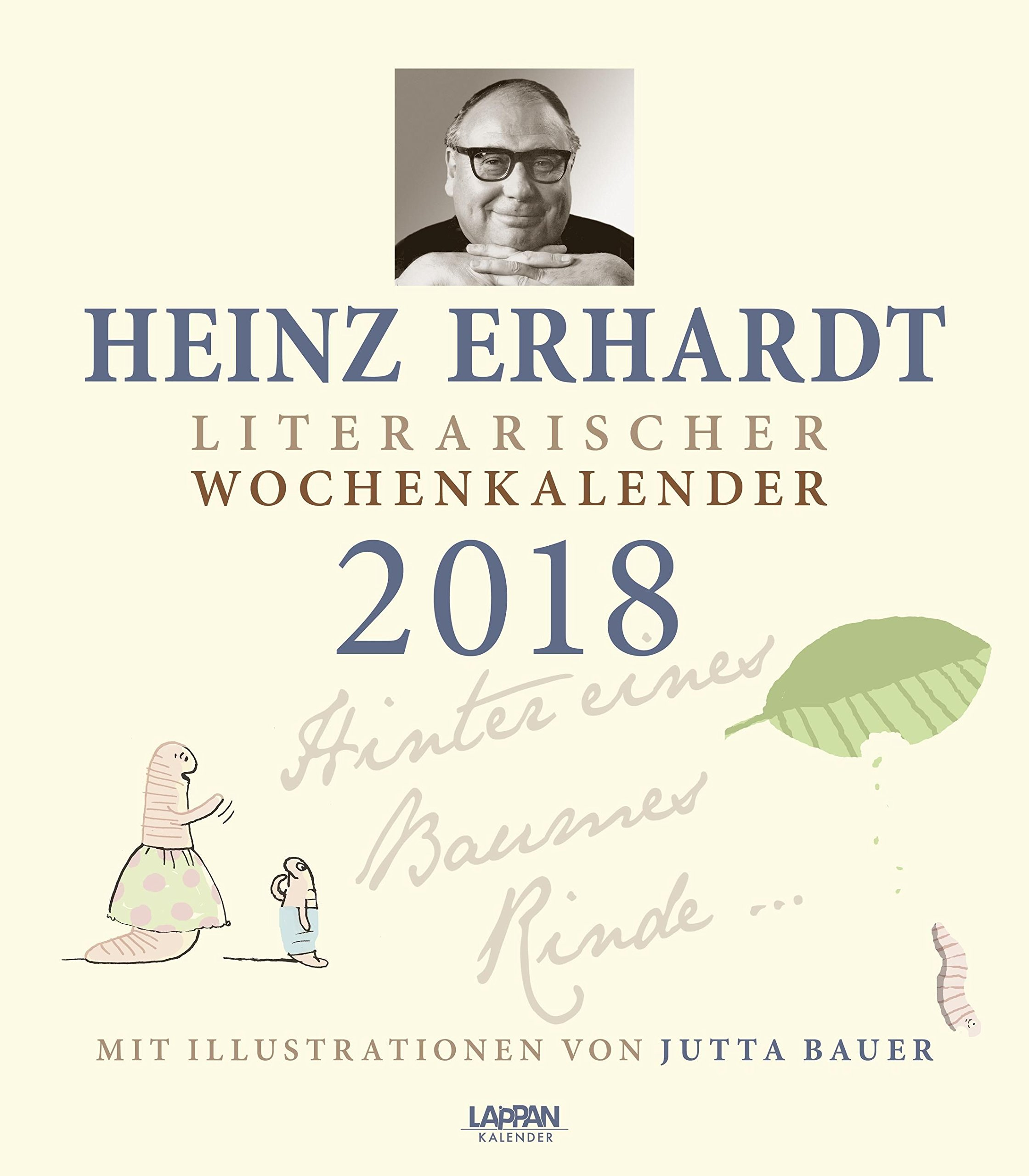 Heinz Erhardt – Literarischer Wochenkalender 2018