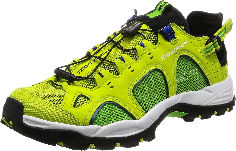 SALOMON Techamphibian 3, Chaussures de Trail Homme, Vert
