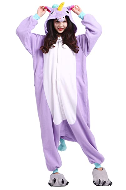 AKAAYUKO Mujer Hombres Animal Onesies Kigurumi Disfraz Cosplay Homewear Tamaño L