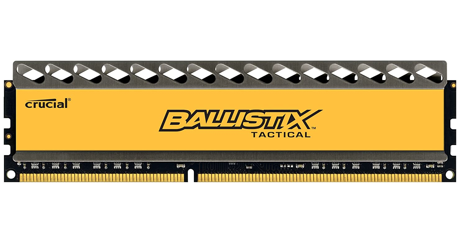 Ballistix Tactical 4GB DDR3 1600 MT/s (PC3-12800) UDIMM 240-Pin - BLT4G3D1608DT1TX0CEU