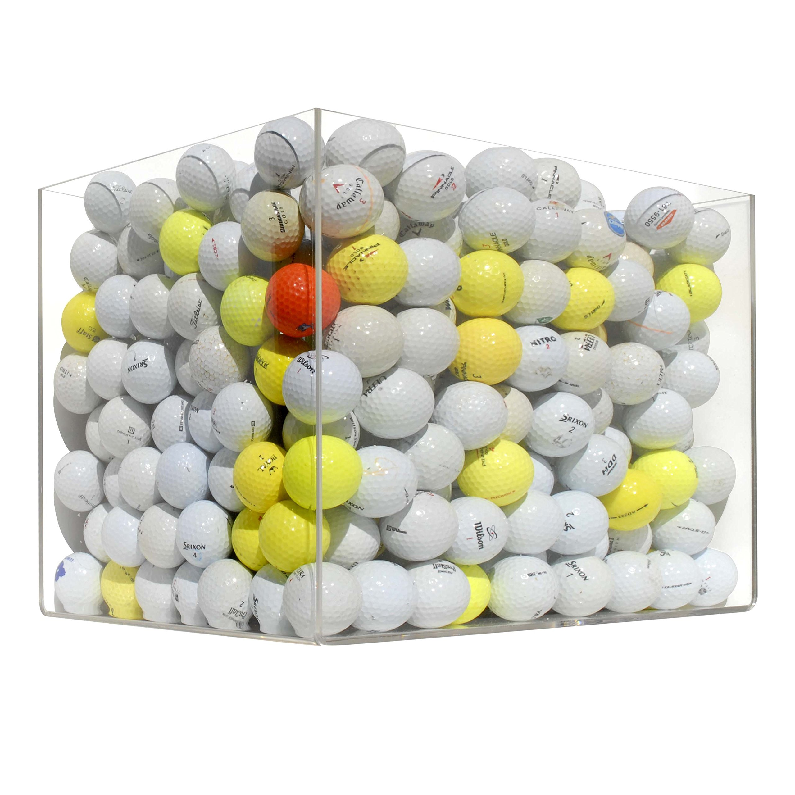 600 D Used Range Ball Hit Away Golf Balls Practice Shag by 5Star-TD