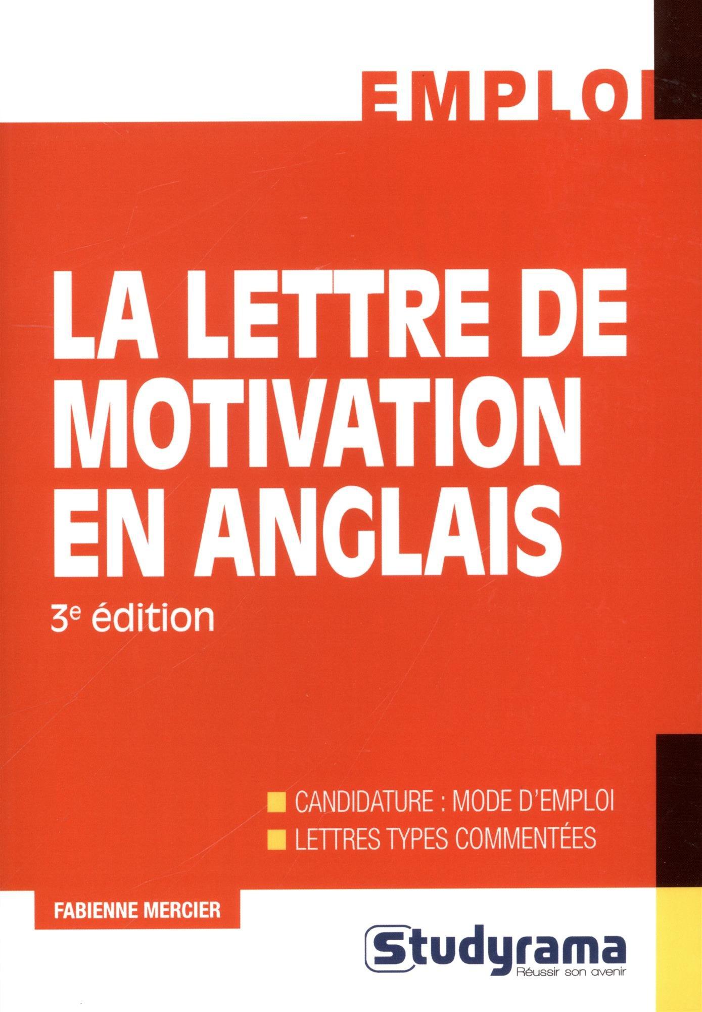 La Lettre De Motivation En Anglais 9782759034130 Amazon