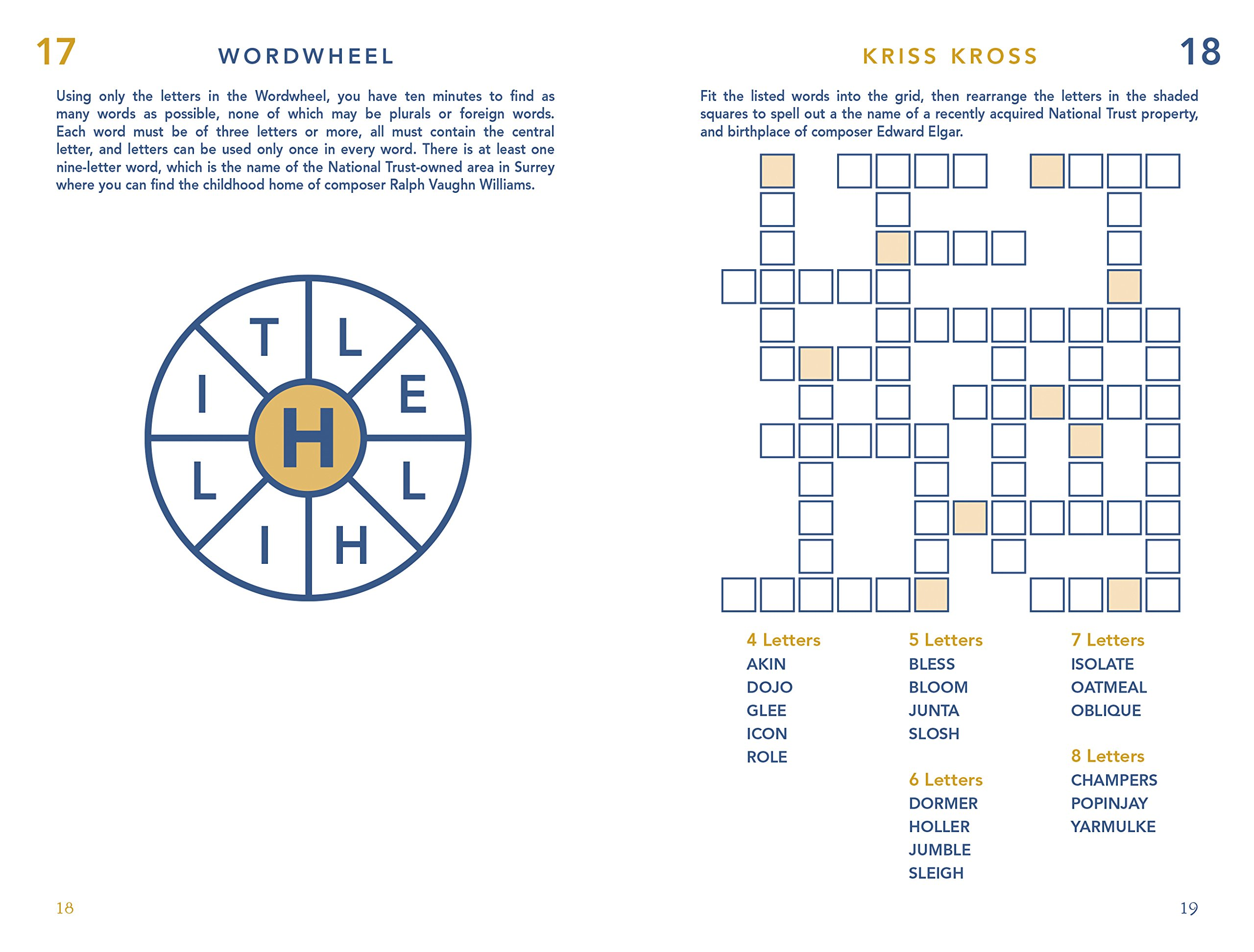 Great Britons 100 Pocket Puzzles Crosswords Wordsearches And