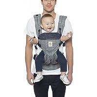 Ergobaby Omni 360 Canguro para bebé de malla transpirable y diseño ergonómico, carga a tu bebé en todas las posiciones, algodón premium