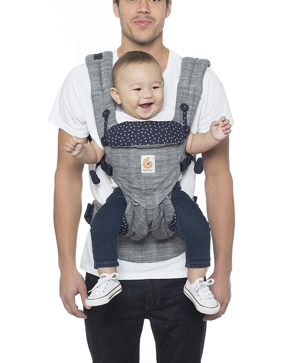 ergo carrier grey with stars