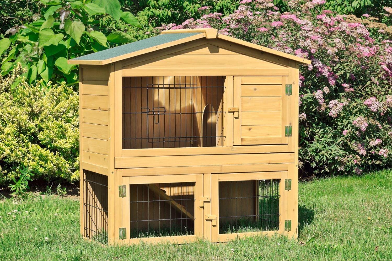 Hasenstall-draußen-Kaninchenstall-1