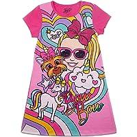 Nickelodeon Girls JoJo Siwa Bow Bow Multicolored Graphic T-Shirt Dress