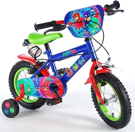 Bicicleta Infantil Niño Chico 12 Pulgadas PJ Masks Frenos al ...