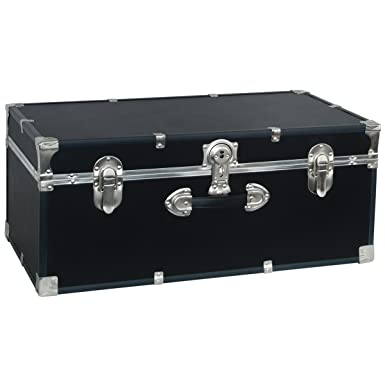 Attractive Seward Trunk College Dorm And Camp Storage Footlocker, Black, 30 Inch  (SWD5120 Part 32