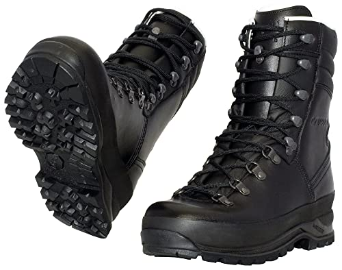 buy sale fashion styles best sneakers Lowa Mega Camp Military Boots UK 9.5 Black: Amazon.ca: Shoes ...