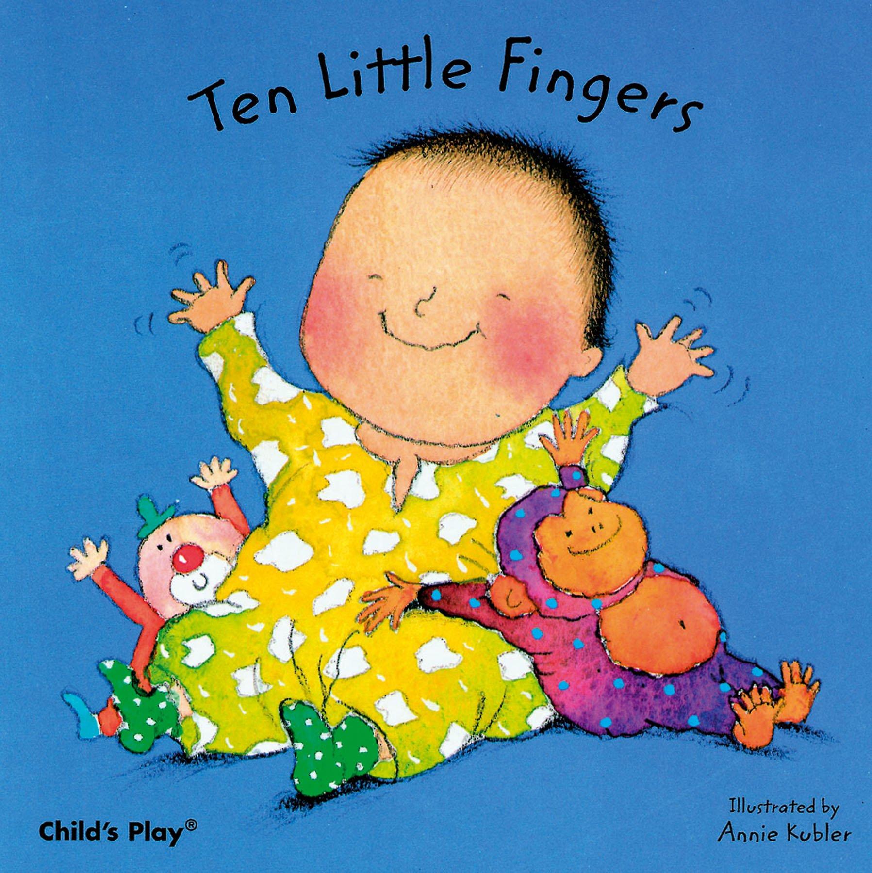Amazon Ten Little Fingers Nursery Time 9780859536103 Annie Kubler Books