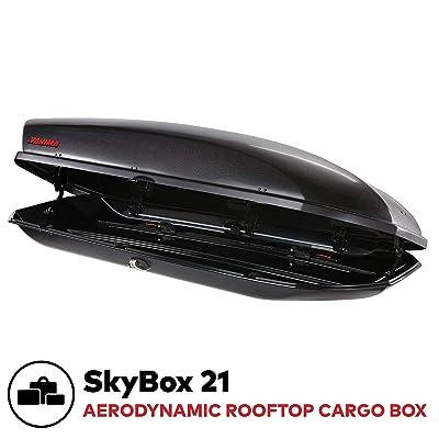 YAKIMA, SkyBox Aerodynamic Rooftop Cargo Box