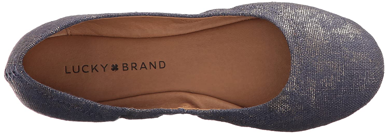 Lucky Brand B01MRHDZ1A Women's Emmie Ballet Flat B01MRHDZ1A Brand 5.5 B(M) US|Denim 483 e8bd77