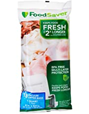 FoodSaver 1-Quart BPA-Free Multilayer Construction Vacuum Zipper Bags