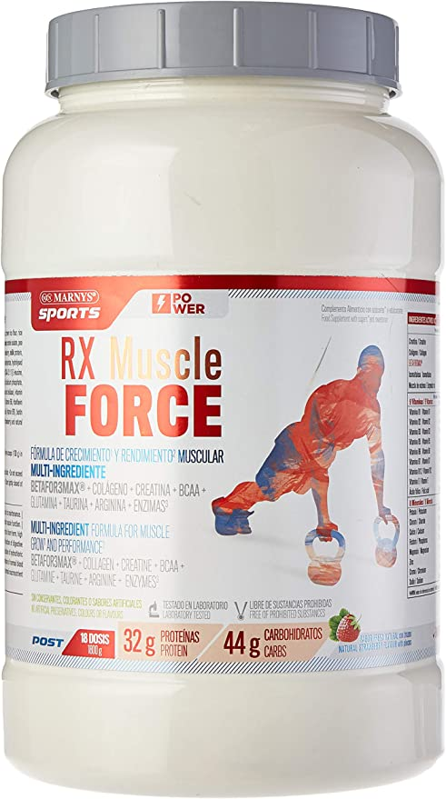 MARNYS SPORTS RX Muscle Force Post-Entrenamiento ...