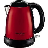 Moulinex BY540510 Bouilloire Électrique sans Fil Subito Rouge Inox 1,7 L 2400W