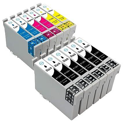 12 Cartuchos de Tinta para Epson Stylus S22 SX125 SX130 SX230 ...