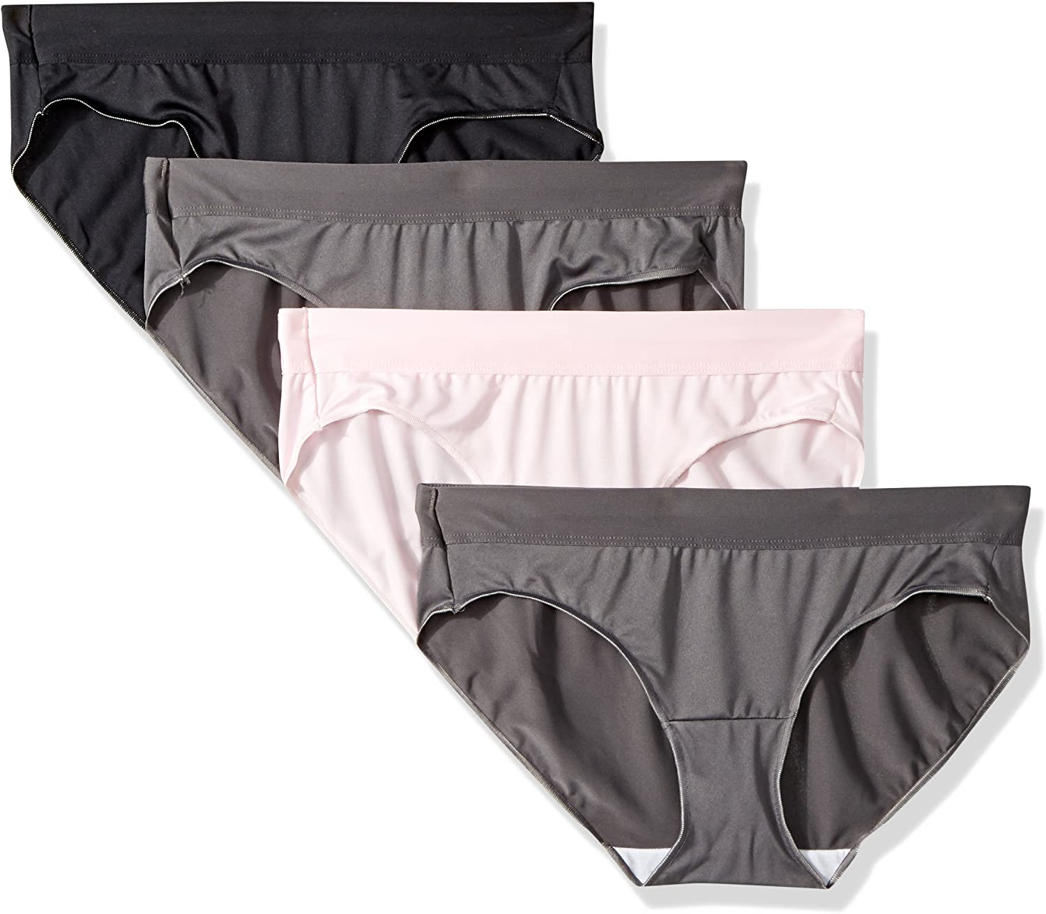 Hanes Women/'s Invisible Lace Microfiber Hipster Panties 3-Pack Size 5 OR 7