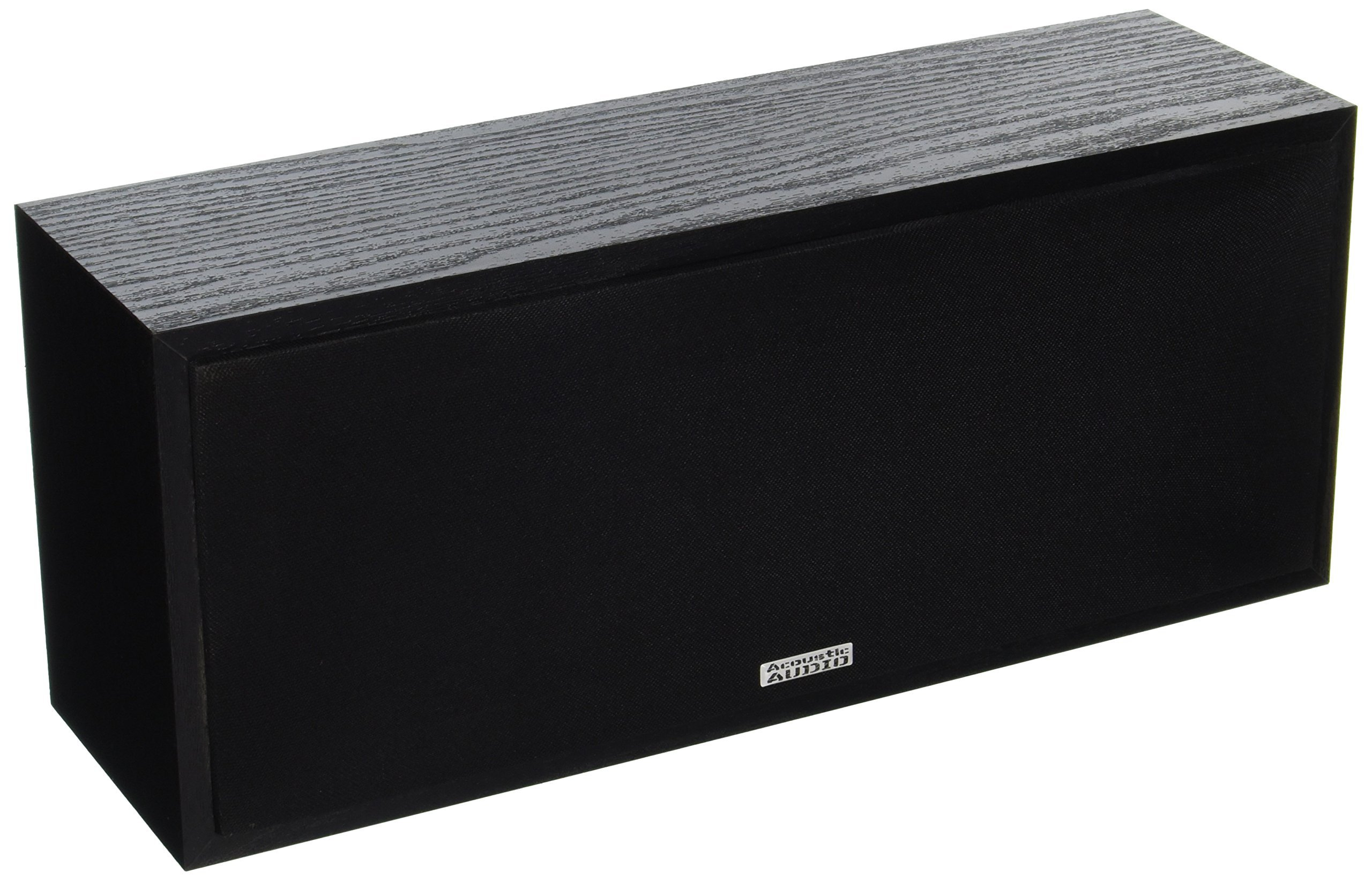 Acoustic Audio PSC-43 Center Channel Speaker (Black) by Acoustic Audio by Goldwood