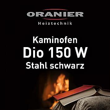 Kaminofen Oranier Dio 150 W Stahl Schwarz