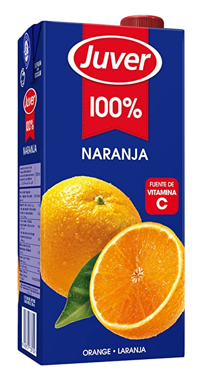 Juver Zumo De Naranja - 1 l