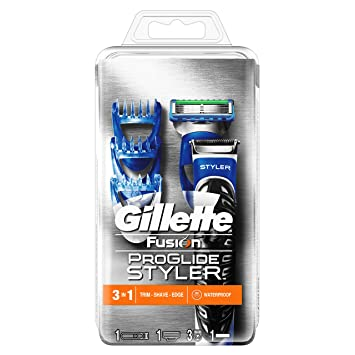Sidste nye Gillette Fusion ProGlide Styler 3-in-1 Waterproof Trimmer for Man OW-53