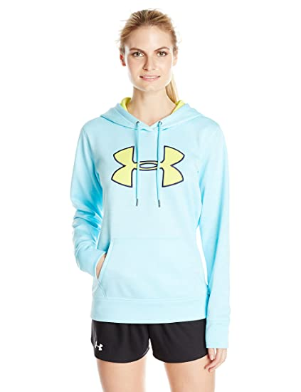 e39438555991 Amazon.com   Under Armour Women s Storm Armour Fleece Big Logo Twist ...