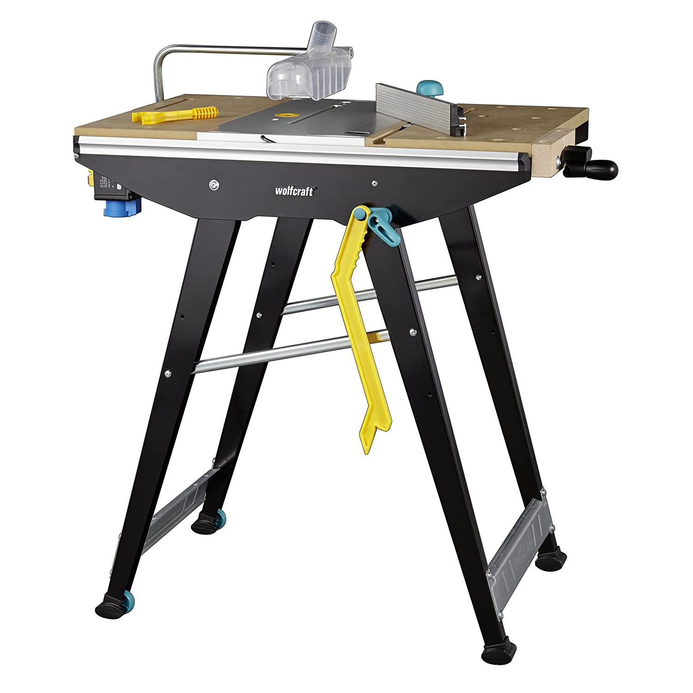 Noir Wolfcraft 6906506/Master Cut 1500/ /Precision Table de sciage et de travail station