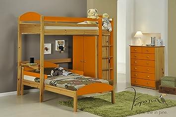 Hochbett L Form : Arbeitsplatte küche naturholz beste von