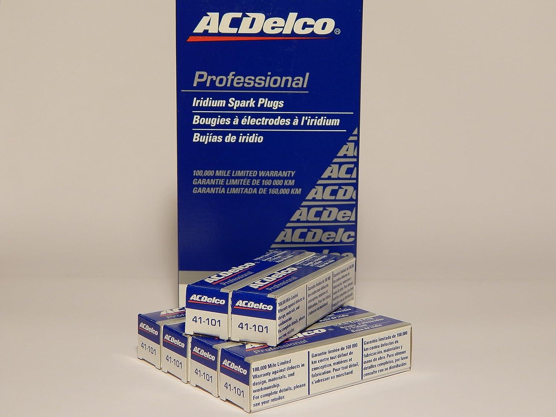 - 6 Pcs ACDelco # 41-101 Professional Iridium Spark Plug NEW *