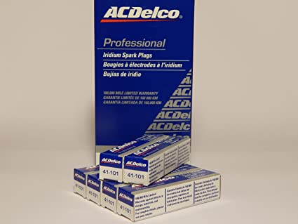 Amazon.com: ACDelco # 41-101 Professional Iridium Spark Plug --- 6 Pcs * NEW *: Automotive