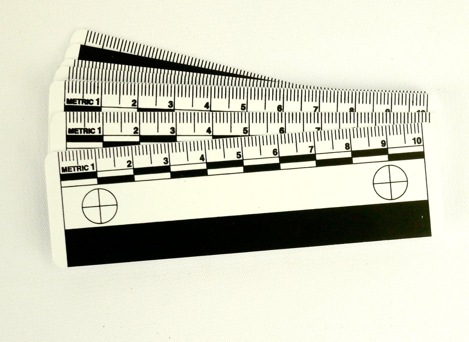 Crime Scene Photomacrographic Scale (10cm) 10pk by Crime Scene (Image #1)